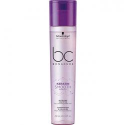 Schwarzkopf BC Bonacure Keratin Smooth Perfect Micellar Shampoo - Мицеллярный шампунь для волос 250 мл
