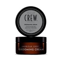 American Crew Grooming Cream - Крем для укладки волос 85 млСтайлинг мужской<br>Как бывает тяжело уложить вечно непослушные волосы, никак не хотящие ровно укладываться в красивую прическу. А гладкую прическу, несмотря на все мучения, хочется. Воспользуйтесь кремом American Crew Forming Cream, способным решить эту проблему. Крем для укладки имеет водную основу, поэтому легко смывается шампунем и не оставляет никаких следов. Сахароза увлажняет волосы, фиксирующий полимер придает волосам объем и упругость, а глицерин смягчает волосы, делая их гуще и объемнее.Способ применения: Возьмите разглаживающий крем от компании American Crew и нанесите его на слегка влажные волосы, распределяя средство равномерно от корней до кончиков волос. После того, как волосы были подготовлены, приступайте к укладке прически феном.Объем: 85 мл<br>