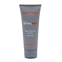 Christina Forever Young Age Fighter Cream SPF15 - Крем против старения для мужчин SPF15 75 мл