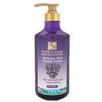 Health & Beauty Shower Cream Moisture Rich Lavender - Увлажняющий крем для душа (лаванда) 780 мл