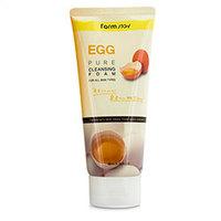 Farmstay Egg Pure Cleansing Foam - Пенка для умывания 180 мл
