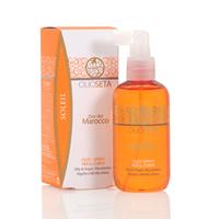 Barex Olioseta Oro Del Marocco Sun Soleil Protective Colored Hair Oil – Защитное масло для окрашенных волос с маслом арганы и маслом макадамии 150 мл