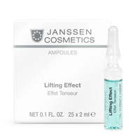 Janssen Skin Excel Glass Ampoules Lifting Effect (instant anti-wrinkle) - Лифтинг-эффект 25*2 мл