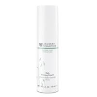 Janssen Organics Rich Firming Cream - Обогащенный увлажняющий лифтинг-крем 150 млКрема для лица<br>Экстраобогащенный крем с выраженным эффектом лифтинга и разглаживания морщин. Инновационные anti-age компоненты, такие как экстракты риса, люцерны и белого люпина, целенаправленно воздействуют на причины возрастных изменений. Благодаря улучшению клеточного сцепления восстанавливается упругость и эластичность кожи, контуры лица становятся более четкими.Применение:Наносите Rich Firming Cream на чистую кожу лица утром и/или вечером.В салоне применять согласно регламенту ухода.Активные компоненты:Экстракт риса*, экстракт люцерны*, экстракт белого люпина*, гиалуроновая кислота с короткой и длинной цепью, эктоин и масло аргании*.* Выращено на экологически чистых плантациях.Объем:150 мл<br>