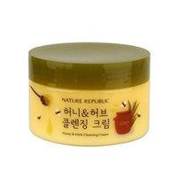 Nature Republic Honey & Herb Cleansing Cream - Крем очищающий с травяными экстрактами и медом 215 мл