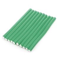 Harizma Professional h10982-22 - Бигуди-бумеранги 22х210 мм зеленые (10 шт)