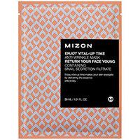 Mizon Enjoy Vital-Up Time Anti Wrinkle Mask - Маска листовая для лица антивозрастная 30 мл