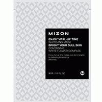 Mizon Enjoy Vital-Up Time Whitening Mask - Маска листовая для лица осветляющая с экстрактом лимона 30 мл