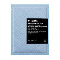 Mizon Enjoy Vital-Up Time Nourishing Mask - Маска листовая для лица питательная с экстрактом авокадо 25 мл