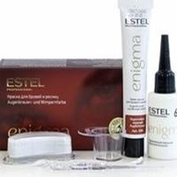 Estel Professional Enigma - Краска для бровей и ресниц коричнево-медный 40 мл