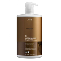 Lakme Teknia Ultra brown shampoo - Шампунь для поддержания оттенка окрашенных волос Коричневый 1000 млСредства для ухода за волосами<br><br>