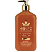 Hempz Pumpkin Spice & Vanilla Chai Herbal Body Moisturizer - Молочко для тела увлажняющее тыква и ваниль 500 мл