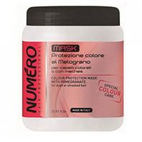 Brelil Numero Colour Mask - Маска для защиты цвета с экстрактом граната для окрашенных и мелированных волос 1000 мл
