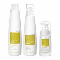 Lakme K.Therapy Repair Gift Pack - Набор для волос (шампунь 300 мл, флюид 300 мл, гель 30 мл)