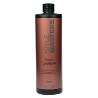Revlon Professional SM Smooth Conditioner - Кондиционер для гладкости волос 750 млКондиционеры для волос<br>Кондиционер специально разработан для прямых волос. Предупреждает спутывание волос, защищает от влажности окружающей среды. Питает, восстанавливает и укрепляет волосы, делая волосы упругими и управляемыми.Волосы послушные, гладкие и блестящие. Пряди легко расчесываются, не спутываются и не электризуются.Способ применения:нанести на влажные волосы легкими массажными движеними. Подождать 3 минуты и смыть большим колличеством воды.Объём:750мл<br>