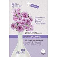 Mijin Cosmetics BSC Essence Mask Damask Rose - Маска тканевая роза 25 г