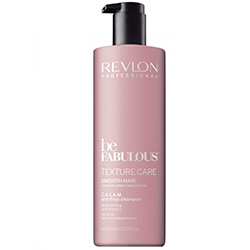 Revlon Professional Be Fabulous C.R.E.A.M. Anti-Frizz Shampoo - Дисциплинирующий шампунь 1000 мл