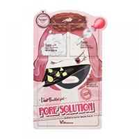 Elizavecca 3-Step Pore Solution Mask Pac - 3-шаговая маска для лица для проблемной кожи 25 мл/2*2 мл