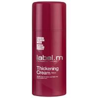 Label.M Create Thickening Cream - Крем для Обьема 100 млУкладочные средства<br>Термоактивный крем, делает волосы более объемными. Отруби, вишня барбадосская и плоды амазонского купуасу увлажняют и придают блеск. Создает хорошую базу для использования стайлинга, придающего объем. Содержит инновационный комплекс Enviroshield, который защищает волосы от термического воздействия во время укладки, от УФ лучей и воздействия окружающей среды, позволяет экспериментировать без вреда для волос.Применение: нанести на подсушенные полотенцем волосы, распределить по всей длине. Активировать горячим воздухом.Объем: 100 мл<br>
