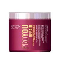 Revlon Professional Pro You Repair Mask - Маска восстанавливающая 500 млМаски для волос<br>Восстанавливающая маска для поврежденных волос Pro You Repair содержит пшеничный белок и экстракт сои. Предназначена для жестких, ослабленных и поврежденных волос. Сложный состав маски осуществляет комплексное воздействие на волосы и кожный покров головы, позволяет восстанавливать поврежденный липидный слой волосяного волокна. Ваши волосы снова станут сияющими и здоровыми.Применение: 2 раза в неделю. Массируя, нанесите на кожу и чистые увлажненные волосы. Смойте через 6-10 минут.Объём: 500 мл<br>
