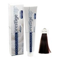 Brelil Крем-краска Colorianne Prestige UP  6/38 Шоколадно-ореховый темный блондин