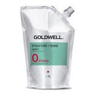 Goldwell Stright And Shine Agent 0 Strong - Смягчающий крем для натуральных и трудноподдающихся волос 400 мл