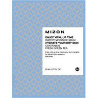 Mizon Enjoy Vital-Up Time Watery Moisture Mask - Маска листовая для лица увлажняющая с экстрактом зеленого чая 23 мл