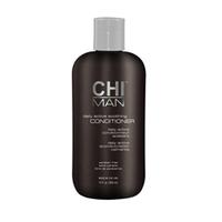 CHI Man Daily Active Soothing Conditioner - Кондиционер  для мужчин 350 млКондиционеры мужские<br>Кондиционер для мужчин CHI содержит экстракты трав, благодаря которым улучшается общее состояние волос и кожа получает полноценное и необходимое питание.Рекомендован для волос любого типа.Использование: Нанести средство на волосы, от корней до самых кончиков. Выдержать 2 минуты, смыть.Объем: 350 мл<br>