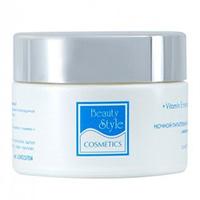 Beauty Style Night Cream - Ночной питательный увлажняющий крем с витамином е аква 24 50 мл