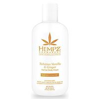 Hempz Tahitian Vanilla & Ginger Herbal Body Wash - Гель для душа имбирь и ваниль таити 237 мл