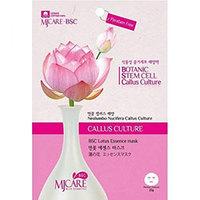 Mijin Cosmetics BSC Lotus Essence Mask - Маска тканевая лотос 25 г