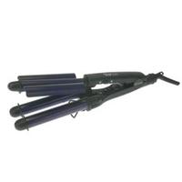 Dewal Star Style 03-020 - Плойка для волос, тройная, 22/19/22 мм, турмалин, с терморегулятором, 90 Вт