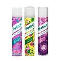 Batiste Dry Shampoo Kit Oriental + Party + Tropical - Набор сухих шампуней 3x200 мл
