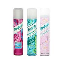 Batiste XXL Volume Spray, Dry Shampoo Original + Rose Gold - Набор для волос (спрей для объема 200 мл и шампуни сухие 2*200 мл)
