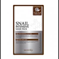 Secret Key Snail Intensive Mask Pack - Маска для лица тканевая с муцином улитки 20 г