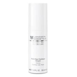 Janssen Demanding Skin Rich Eye Contour Cream - Питательный крем для кожи вокруг глаз 15 мл