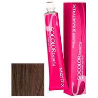 Matrix Socolor.beauty - Стойкая крем-краска 7AV блондин пепельно-перламутровый 90 млКраска для волос<br>Профессиональная стойкая крем-краска для Matrix SOCOLOR beauty 7AV оттенок Блондин пепельно-перламутровый создана для придания Вашим волосам стойкого светлого цвета с невероятно красивым пепельно - перламутровым оттенком. Технология ColorGrip позволит создать светлый тон волос за одно применение, ведь в её основе лежит действие самонастраивающихся пигментов красителя. Краска полностью закрашивает седину при наличии более 50% седых волос. Ухаживающий комплекс Cera-Oil с керамидами и маслом жожоба восстанавливает структуру волос, придавая волосам здоровый блеск и эластичность.Способ применения:смешать краску с активатором в нужной пропорции. Нанести смесь на волосы (особое внимание уделяя корням) при помощи щетки или расчески и оставить на 20-45 минут. Затем тщательно смыть крем-краску теплой водой, высушить волосы полотенцем и воспользоваться бальзамом-кондиционером.Объем:90 мл<br>