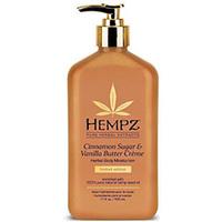 Hempz Cinnamon Sugar & Vanilla Butter Creme Herbal Body Moisturizer - Молочко для тела увлажняющее корица и ваниль 500 мл