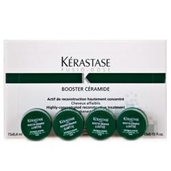 Kerastase Fusio-Dose Booster Ceramide - Средство для восстановления поврежденных волос 15*0,4 мл