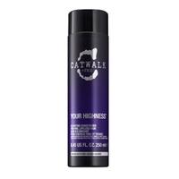TIGI Catwalk Your Highness  Conditioner - Кондиционер для придания объема волосам 250 млКондиционеры для волос<br>Кондиционер для объема волос делает волосы мягкими, послушными, объемными. Успокаивает и восстанавливает природный баланс волос и кожи головы. Не утяжеляет волосы. Снимает статический заряд волос.Применение:Нанести на вымытые, влажные волосы после мытья шампунем Your Highness Elevating Shampoo. Для максимального эффекта оставить на 3-5 минут, затем смыть.Объём:250 мл<br>