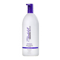 Keratin Complex Blondeshell Shampoo  - Шампунь корректирующий для осветленных и седых волос 1000 мл