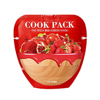 Ettang Cook Pack The Fresh Red Rubber Mask - Маска для лица тонизирующая 25 мл