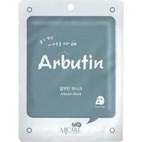 Mijin Cosmetics Care On Mask Pack Arbutin - Маска тканевая с арбутином 22 г