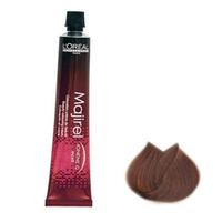 LOreal Professionnel Majirel - Крем-краска Мажирель Ионен G и incell 8.34 светлый блондин золотисто-медный 50 млКраска для волос<br>Стойкая краска-крем для красоты волос. Новая формула гарантирует высокое качество волоса и, как следствие, великолепный, ровный, стойкий, точный цвет. Последняя разработка лабораторий L'Oreal молекула incell в сочетании с базовым полимером ухода Ионен G впервые позволяет обеспечить глубокий уход и максимальную защиту на всех трех зонах строения волоса. Система высокой стойкости (НТ) позволяет в 2 раза увеличить сопротивляемость волос вредному воздействию ультрафиолетового излучения и защищает цвет от вымывания. Система проявления цвета (Revel Color) отвечает за чистоту и насыщенность цвета. Мощность осветления до 3 тонов. Покрытие седины до 100%.Молекула incell, микрокатионный полимер Ионен G™, многомерные молекулы системы высокой стойкости (НТ), система проявления цвета (Revel Color).Объем: 50 мл<br>