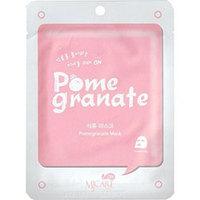Mijin Cosmetics Care On Mask Pack Pomegranate - Маска тканевая с гранатом 22 г