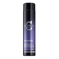 TIGI Catwalk Fashionista Voilet Shampoo - Шампунь для коррекции цвета осветленных волос 300 млШампуни для волос<br>Violet Shampoo предназначен для блондинок: светлых натуральных, осветленных и мелироавнных волос. Поддерживает светлый тон волос, придает блеск и интенсивно увлажняет сухие волосы. Нейтрализует желтизну и красноту, придает платиновый холодный оттенок как натуральным, так и окрашенным волосам. Мягко очищает волосы, поддерживает и заметно усиливая яркость цвета волос.Благодаря комплексу фиалки, жемчужного экстракта и рисового молочка светлые и седые волосы становятся более блестящими.Состав:Фиолетовые красители, Кондиционирующий агент (StearamidopropylDimethylamine), Глицерин, Молочная кислота, ПантенолПрименение:нанести на мокрые волосы, вспенить, оставить на 10 минут на волосах, после смыть. При необходимости повторить.Объем: 300 мл<br>