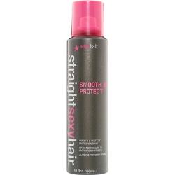 Straight Sexy Hair Smooth And Protect Flat Iron Hair Spray - Спрей разглаживающий с термозащитой 150 мл
