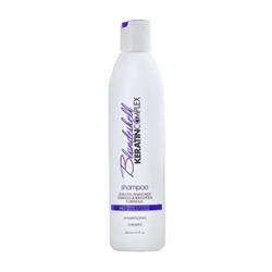 Keratin Complex Blondeshell Shampoo  - Шампунь корректирующий для осветленных и седых волос 400 мл