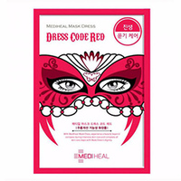 Mediheal Mask Dress Code Red - Маска тканевая для лица 27 мл