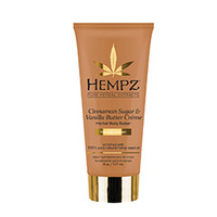 Hempz Cinnamon Sugar & Vanilla Butter Creme Herbal Body Butter - Крем питательный для тела 177 мл
